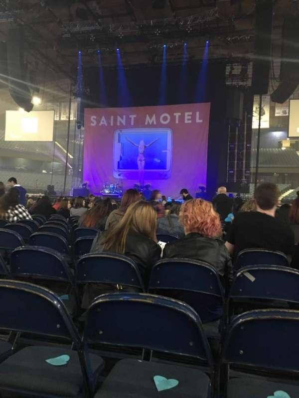 Allstate Arena, secção: 3, fila: 26, lugar: 17
