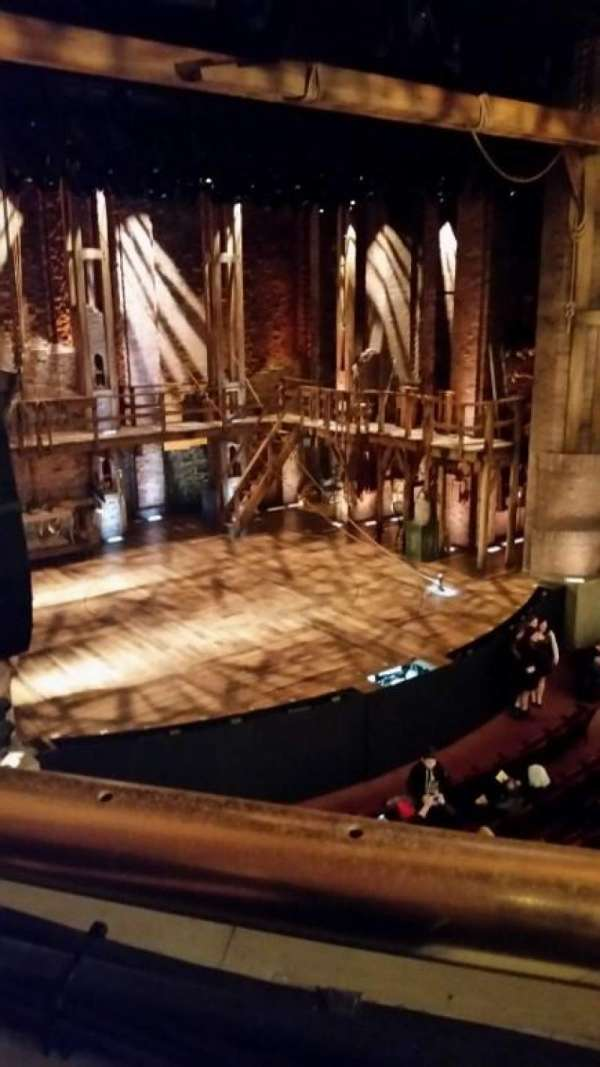 CIBC Theatre, secção: Mezzanine L, fila: A, lugar: 11
