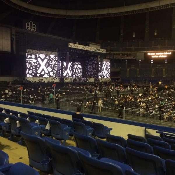 Olympic Stadium, Montreal, secção: 132, fila: OO, lugar: 7-9