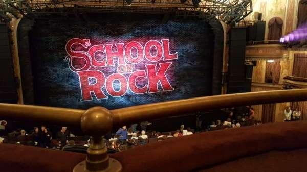 Winter Garden Theatre, secção: Mezzanine RC, fila: A, lugar: 106 & 108