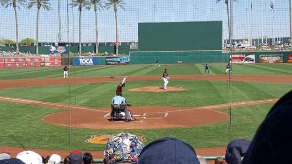 Goodyear Ballpark, secção: 112, fila: Q, lugar: 2