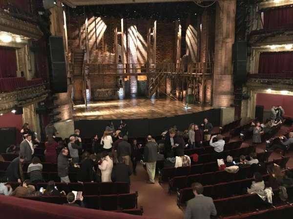 CIBC Theatre, secção: Dress Circle LC, fila: A, lugar: 231
