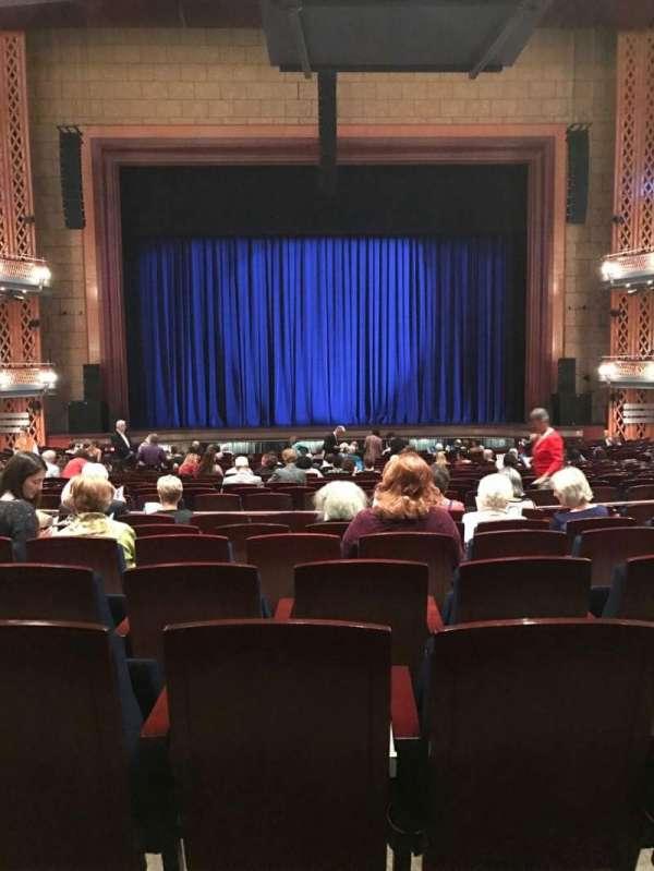 Walt Disney Theatre - Dr. Phillips Center, secção: Orchestra, fila: W, lugar: 114