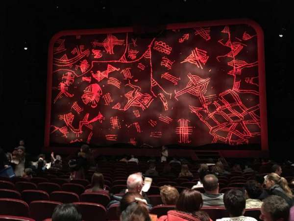 Minskoff Theatre, secção: Orchestra C, fila: P, lugar: 121