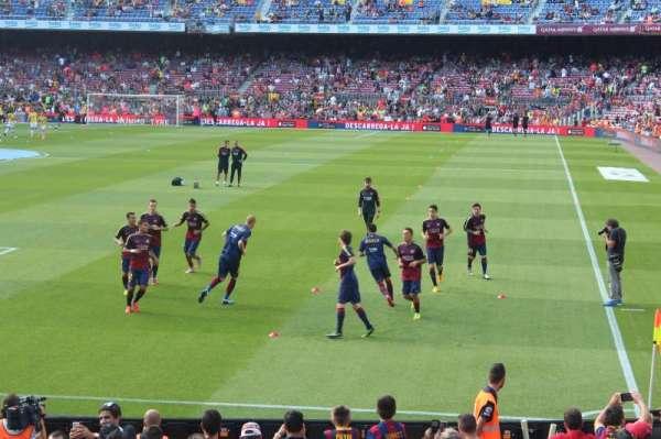 Camp Nou, secção: 123, fila: 7, lugar: 14