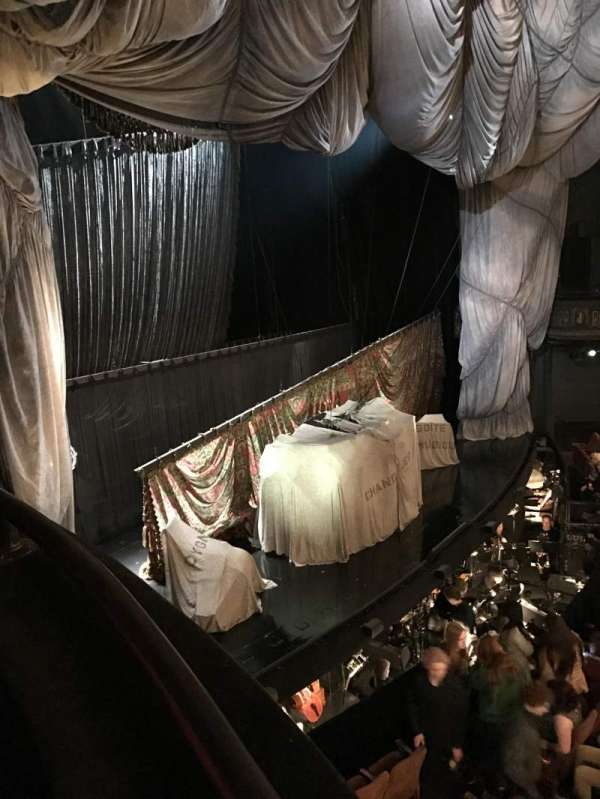 Majestic Theatre, secção: Box F, lugar: 50