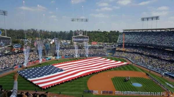 Dodger Stadium, secção: 21RS, fila: BB, lugar: 4
