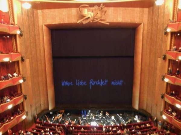 Metropolitan Opera House - Lincoln Center, secção: Balcony, fila: A, lugar: 104