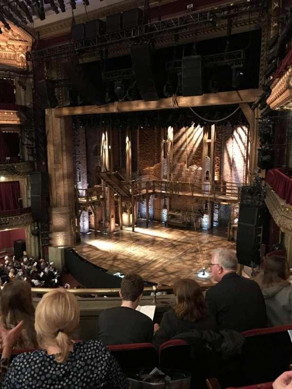 CIBC Theatre, secção: Mezzanine R, fila: D, lugar: 14