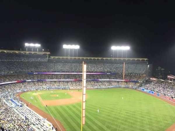 Dodger Stadium, secção: 54rs, fila: Ff, lugar: 13
