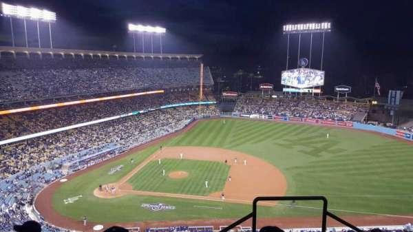 Dodger Stadium, secção: 14RS, fila: DD, lugar: 21