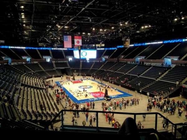 Nassau Veterans Memorial Coliseum, secção: 236, fila: 5, lugar: 1