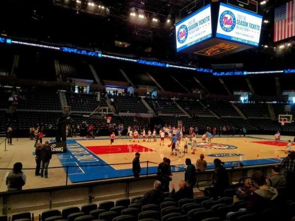 Nassau Veterans Memorial Coliseum, secção: 19, fila: 8, lugar: 9
