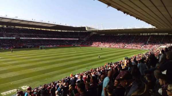 Riverside Stadium, secção: 47, fila: 20, lugar: 238