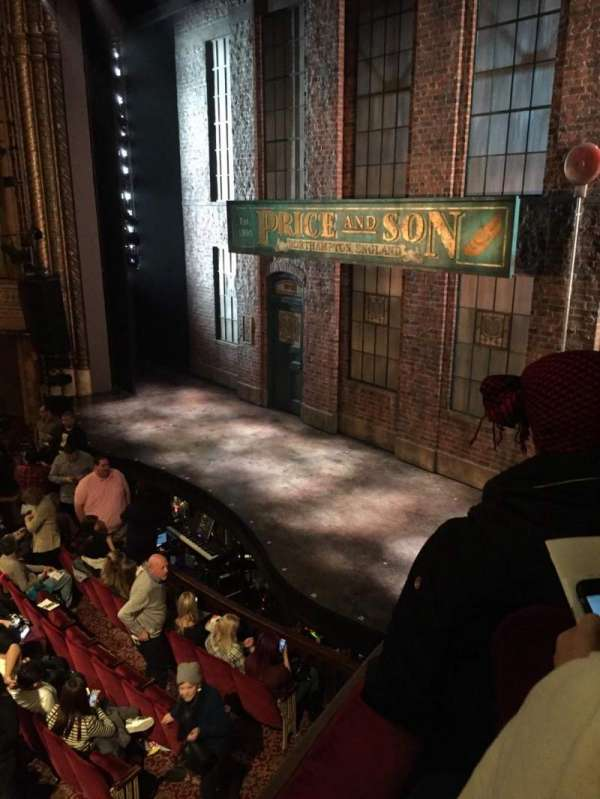 Al Hirschfeld Theatre, secção: Right Box, fila: E, lugar: 12