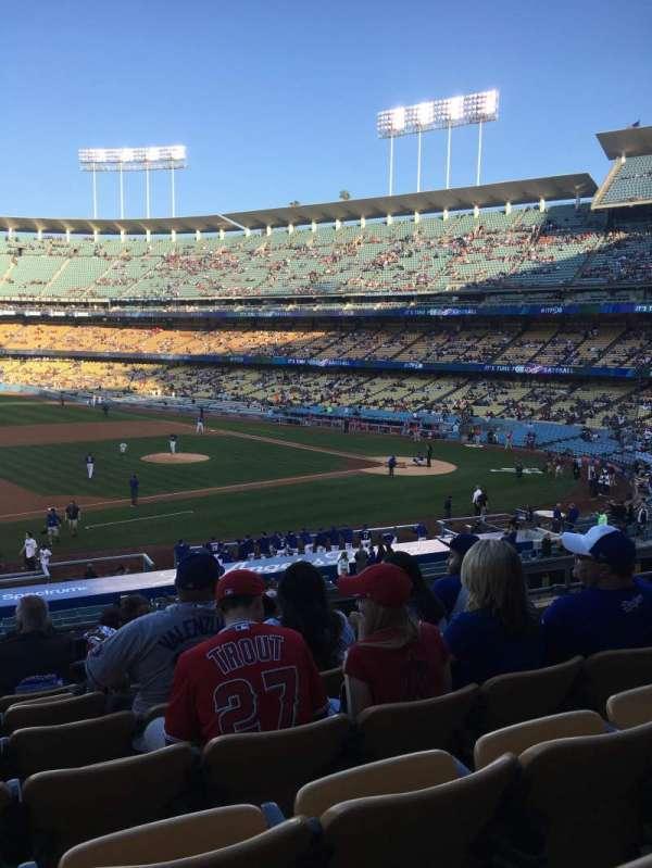 Dodger Stadium, secção: 137LG, fila: G, lugar: 6