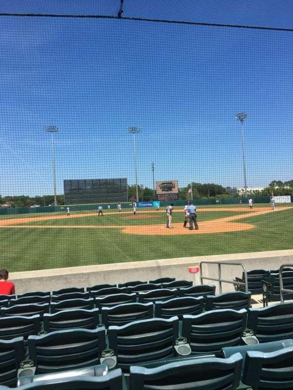 Osceola County Stadium, secção: 111, fila: 8, lugar: 5