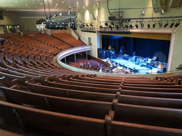 Ryman Auditorium, secção: BAL-10, fila: P, lugar: 7