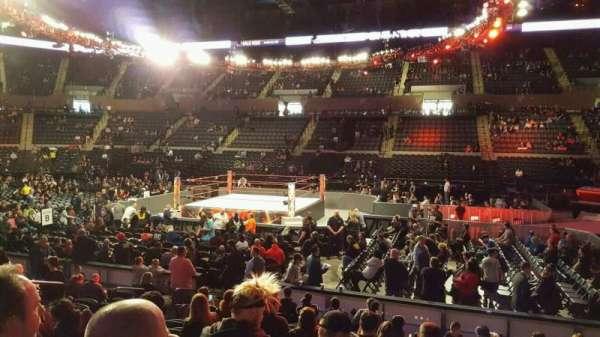 Nassau Veterans Memorial Coliseum, secção: 102, fila: 1, lugar: 7