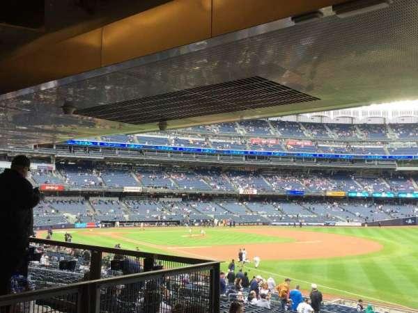 Yankee Stadium, secção: 110, fila: 29, lugar: 14, 15