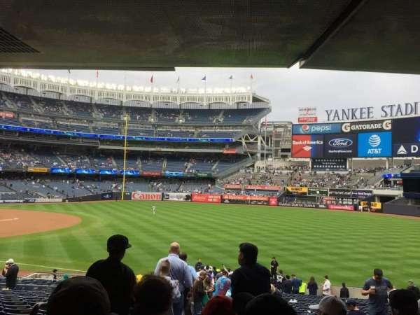 Yankee Stadium, secção: 110, fila: 29, lugar: 14