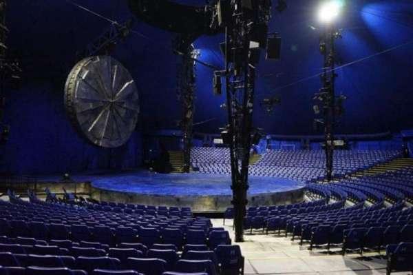 Cirque Du Soleil - Luzia, secção: 203, fila: N, lugar: 1