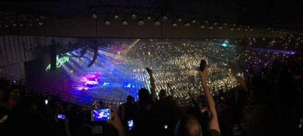 Royal Farms Arena, secção: 307, fila: K, lugar: 11