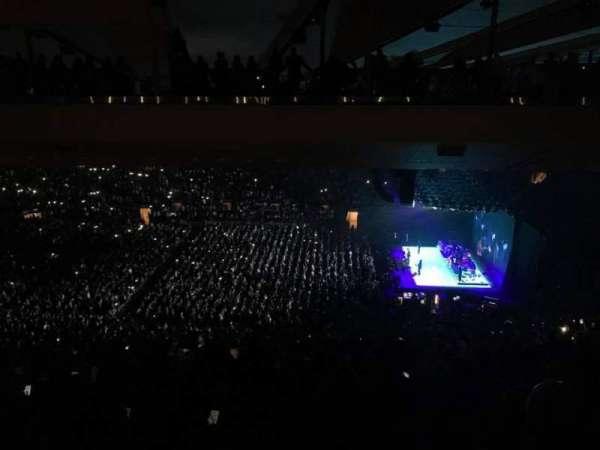 Madison Square Garden, secção: 212, fila: 20, lugar: 16