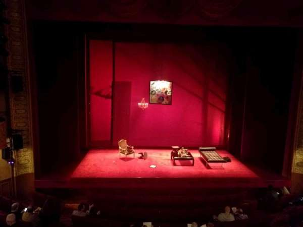 Ethel Barrymore Theatre, secção: Front Mezzanine C, fila: A, lugar: 105