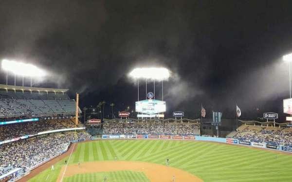 Dodger Stadium, secção: 10RS, fila: J, lugar: 2