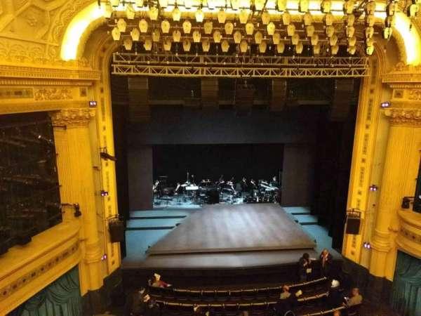 Hudson Theatre, secção: Balcony C, fila: A, lugar: 103