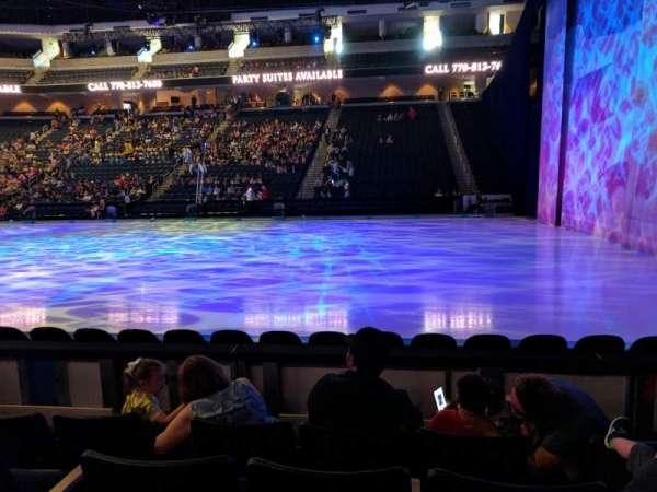 Infinite Energy Arena, secção: 106, fila: D, lugar: 8
