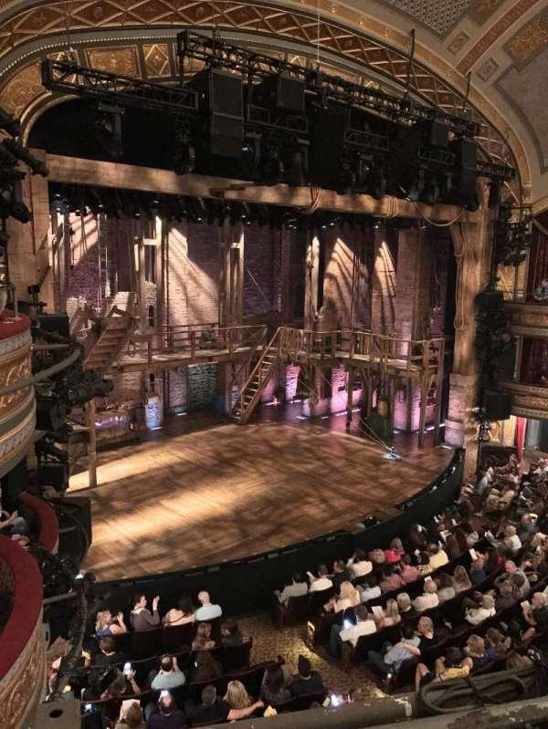 Richard Rodgers Theatre, secção: Front Mezzanine L, fila: A, lugar: 25