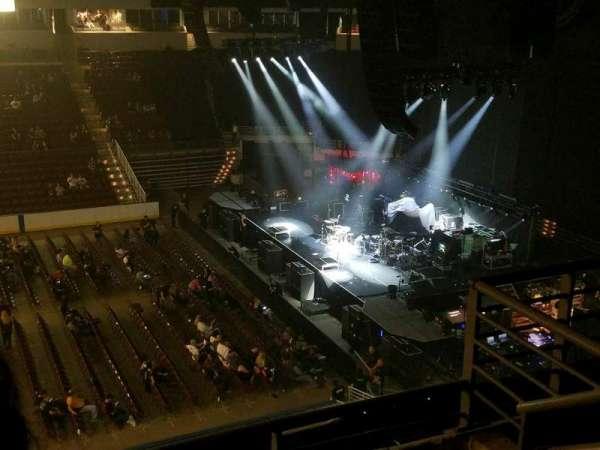 Verizon Arena, secção: 304, fila: 3, lugar: 18