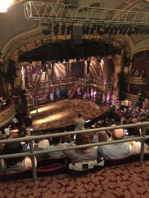 Richard Rodgers Theatre, secção: Rear Mezzanine L, fila: G, lugar: 27