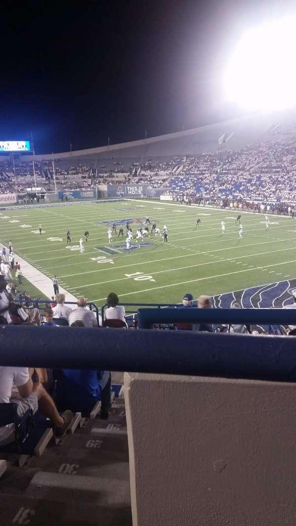 Liberty Bowl Memorial Stadium, secção: 130, fila: 34, lugar: 2