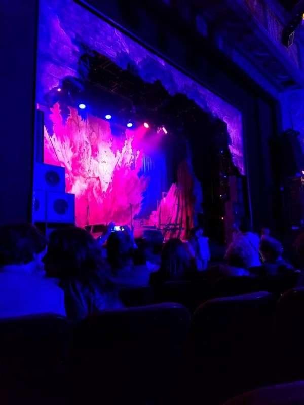 Hollywood Pantages Theatre, secção: Orchestra LC, fila: E, lugar: 309