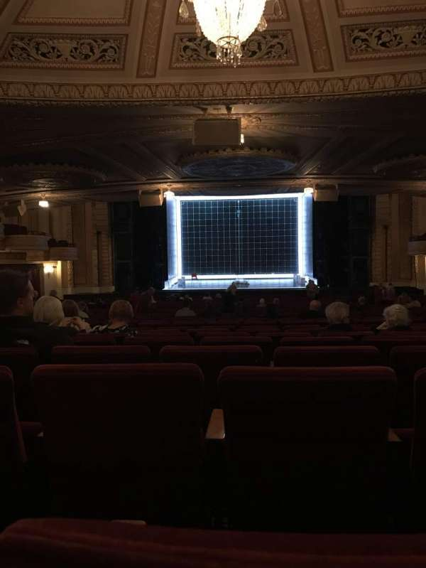 Connor Palace, secção: Orchestra, fila: LL, lugar: 310