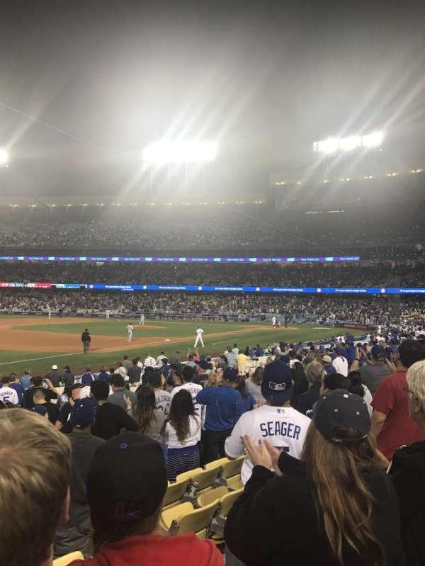 Dodger Stadium, secção: 37FD, fila: M, lugar: 5,6