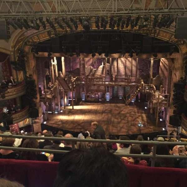 Richard Rodgers Theatre, secção: Rear Mezzanine C, fila: H, lugar: 103