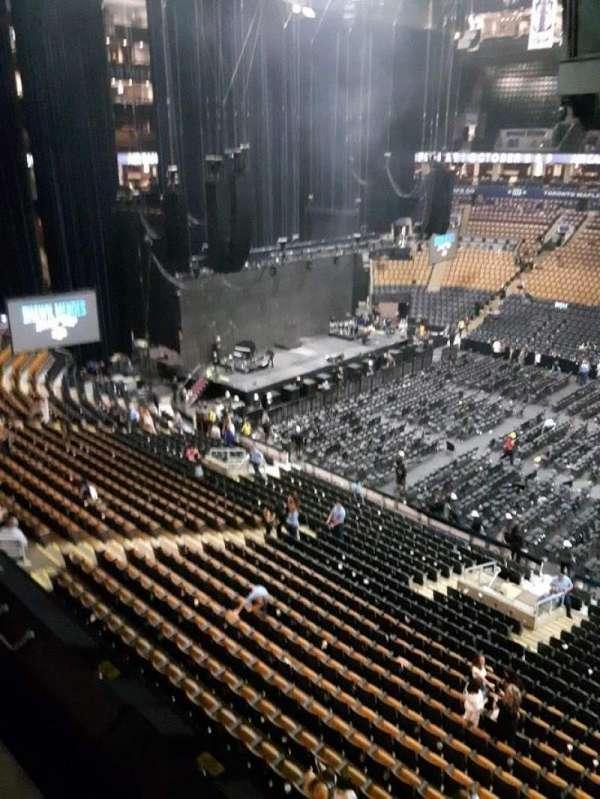 Scotiabank Arena, secção: 308, fila: 1