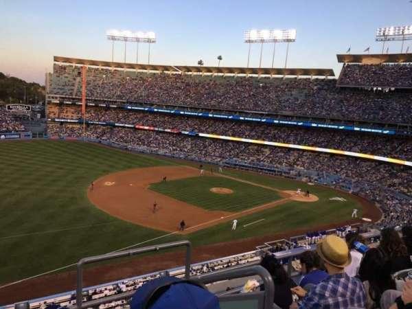 Dodger Stadium, secção: 31RS, fila: G, lugar: 3