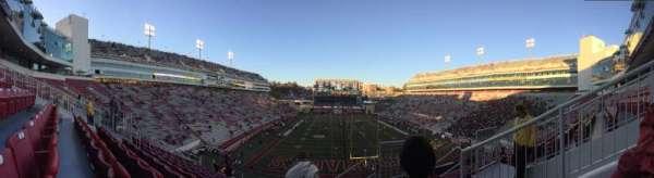 Razorback Stadium, secção: 224, fila: 12, lugar: 01 and 02