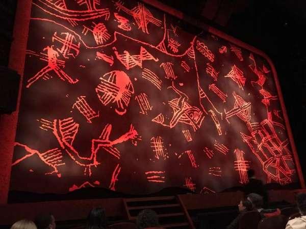 Minskoff Theatre, secção: Orchestra L, fila: F, lugar: 3