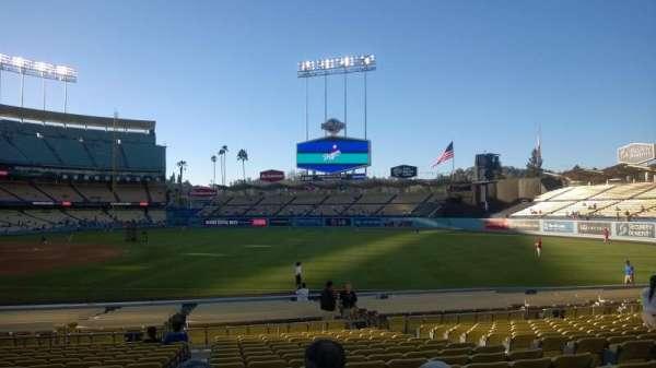 Dodger Stadium, secção: 36FD, fila: M, lugar: 1