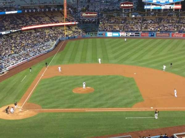 Dodger Stadium, secção: 10RS, fila: K, lugar: 18
