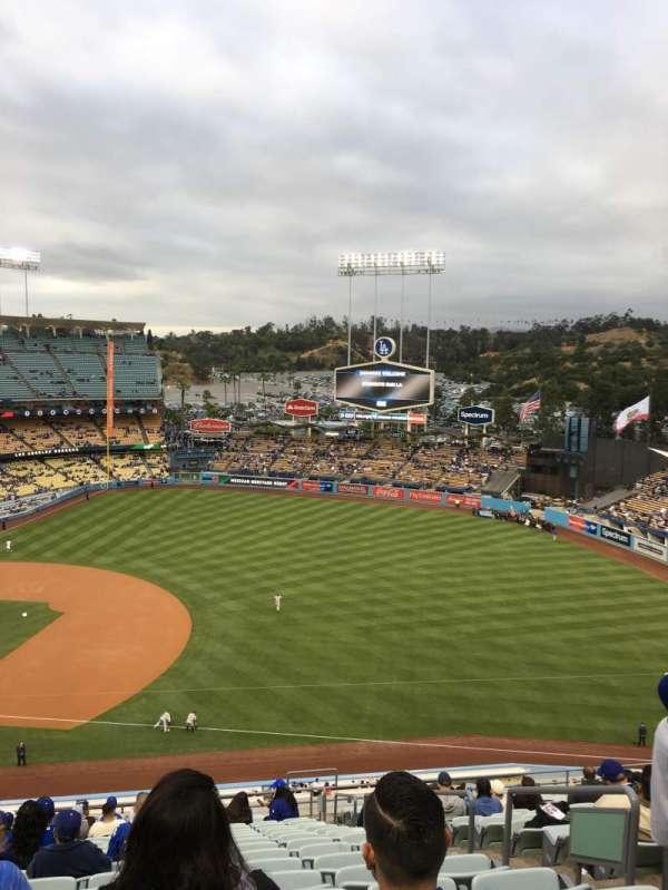 Dodger stadium, secção: 28RS, fila: U, lugar: 19