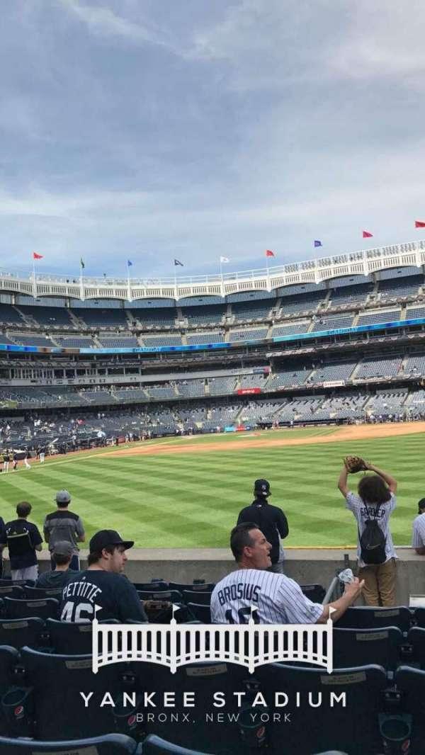 Yankee Stadium, secção: 104, fila: 5, lugar: 14