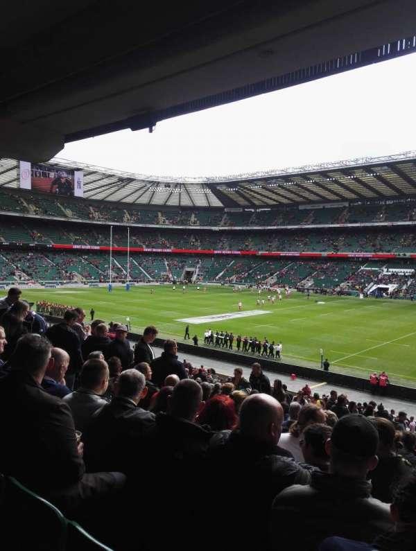 Twickenham Stadium, secção: L21, fila: 38, lugar: 105