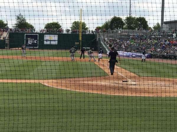 Arvest Ballpark, secção: 114, fila: B, lugar: 6